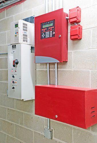 Установка системы пожаротушения и пожарной сигнализации